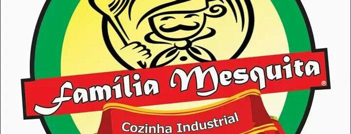 Cozinha Industrial Família Mesquita is one of Meus lugares.