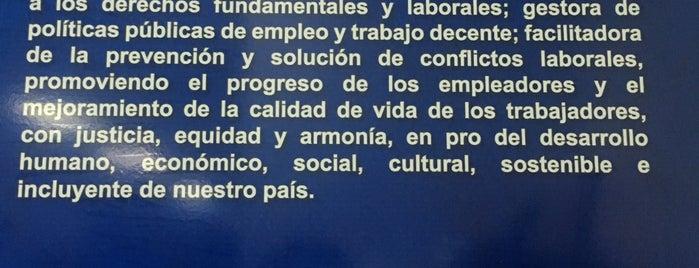 Ministerio de Trabajo y Desarrollo Laboral is one of Panama.