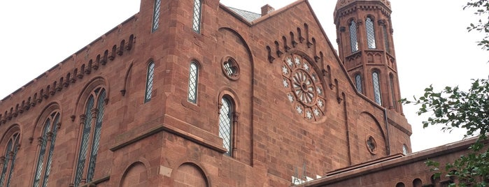 Smithsonian Institution Building (The Castle) is one of DC Metro.