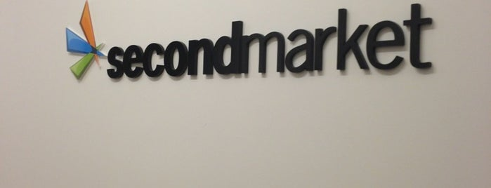 SecondMarket HQ is one of Silicon Alley, NYC.