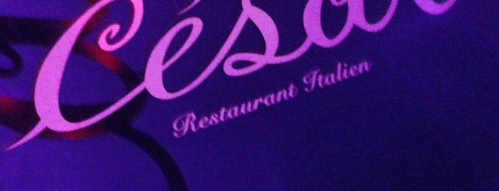 Pizza César is one of paris-restaurant.