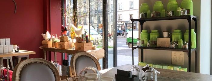 Betjeman & Barton is one of Les meilleurs salons de thé de Paris par SàP.