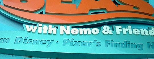 The Seas with Nemo & Friends is one of Walt Disney World.