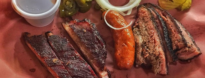 Bodacious Bar-B-Q is one of Texas Monthly's Top 50 BBQ Joints in Texas.