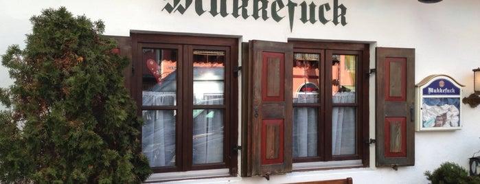 Mukkefuck is one of Garmisch.
