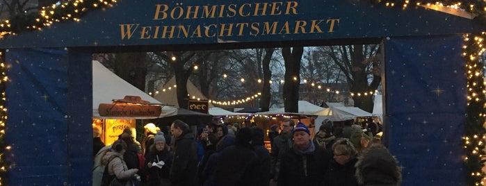 Böhmischer Weihnachtsmarkt is one of Locais curtidos por Thilo.