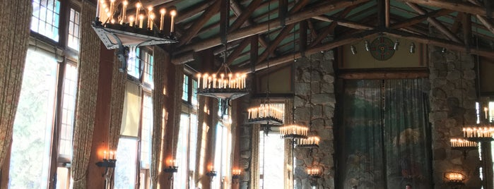 The Majestic Yosemite Dining Room is one of F&W's Coziest Restaurant.