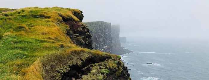 Látrabjarg is one of Iceland.