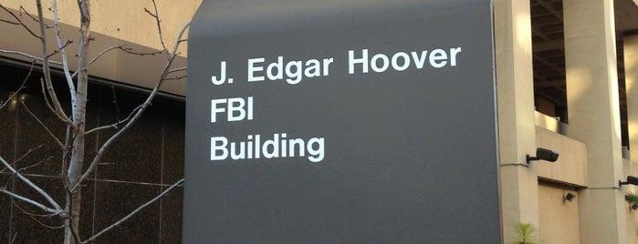J. Edgar Hoover FBI Building is one of Trips / Washington, DC.