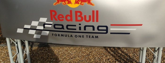 Red Bull Racing Ltd is one of The Seven Ten Split Bagde.