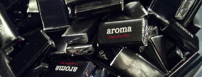 Aroma Espresso Bar is one of Ontario.