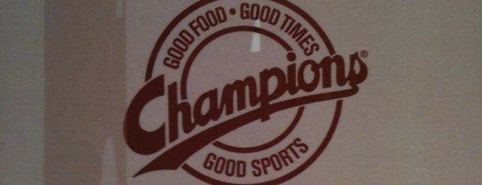 Champions Restaurant & Sports Bar is one of SXSW® 2013 (South by Southwest) Guide.