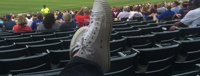 Progressive Field is one of MLB Ballparks.