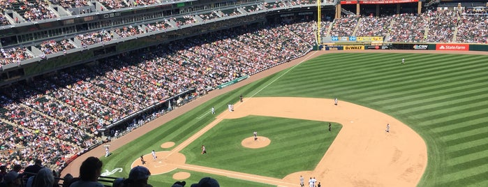 Guaranteed Rate Field is one of MLB Ballparks.