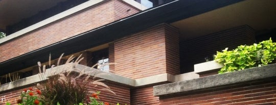 Frank Lloyd Wright Robie House is one of Chicago Favorites.