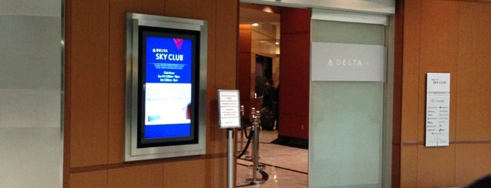 Delta Sky Club is one of Locais curtidos por Michael.