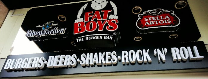 Fat Boy's The Burger Bar is one of Elena's Liked Places.