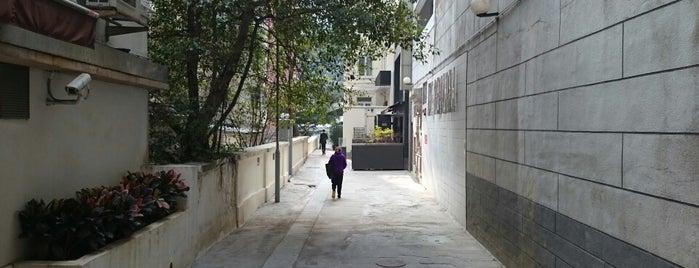 Prince's Terrace 太子台 is one of HK's Roads Path.