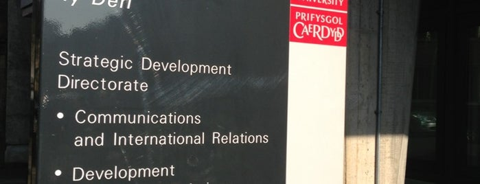 Cardiff University International Office is one of Cardiff University.