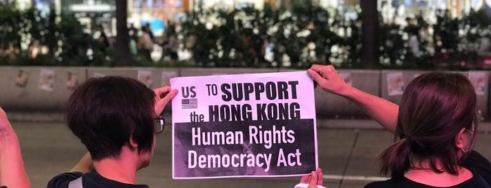 Tsim Sha Tsui is one of Hong Kong.