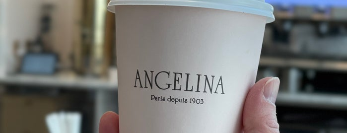 Angelina Bakery is one of restos.