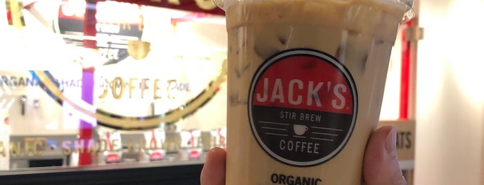 Jack's Stir Brew Coffee is one of NYC Food Places with Vegan options.