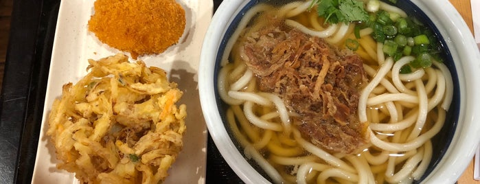 Marugame Udon is one of Noodles & Wheat Foods.