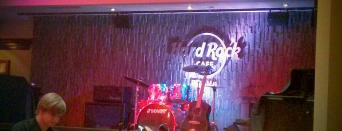 Hard Rock Cafe Prague is one of Czech: Dining, Coffee, Nightlife & Outings.