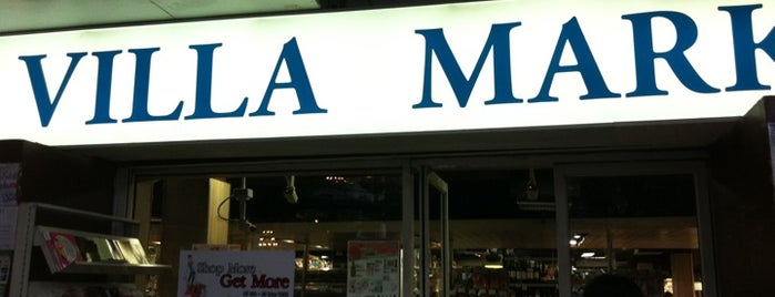 Villa Market is one of Lugares guardados de Anna Brain.