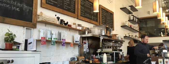 Avenue Coffee is one of Europe 16.