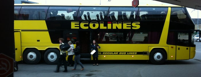 Ecolines Tallinn - St. Petersburg is one of Татьяна 님이 좋아한 장소.