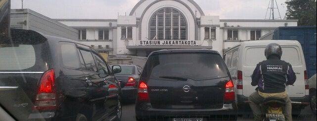 Stasiun Jakarta Kota is one of Jakarta. Indonesia.
