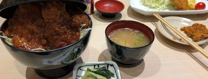 ソースかつ丼 明治亭 長野駅店 is one of Orte, die Shinichi gefallen.