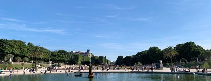 Grand Bassin du Jardin du Luxembourg is one of Lieux qui ont plu à Vanessa.