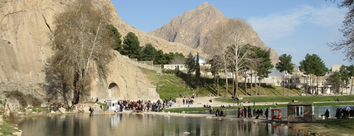 Tagh-e Bostan | طاق بستان is one of to do in iran.