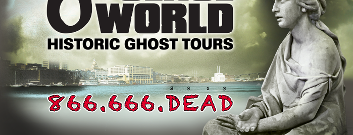 6th Sense World® Historic Ghost & Cemetery Tours is one of Paranormal Sights.