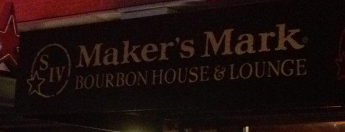 Makers Mark Bourbon House is one of Louisville.