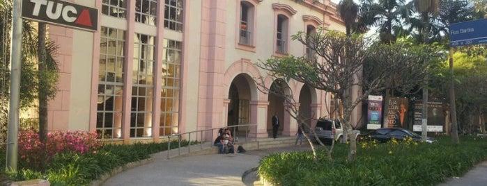 TUCA - Teatro da Universidade Católica de São Paulo is one of Rômulo'nun Beğendiği Mekanlar.