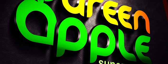Green Apple Supermarket is one of Lugares favoritos de Maurice.