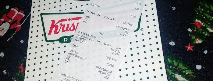 Krispy Kreme Doughnuts is one of Locais curtidos por Maurice.