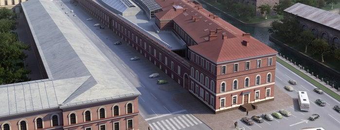 Центральный военно-морской музей is one of Закладки IZI.travel.