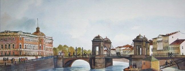 Мост Белинского is one of Закладки IZI.travel.