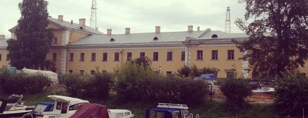 Набережная реки Карповки is one of Закладки IZI.travel.