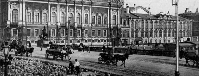 Дворец Белосельских-Белозерских is one of Закладки IZI.travel.