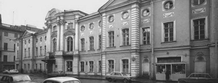 Дворец Нарышкиных-Шуваловых is one of Закладки IZI.travel.
