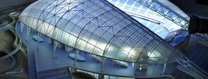 Олимпийский стадион «Фишт» is one of Закладки IZI.travel.