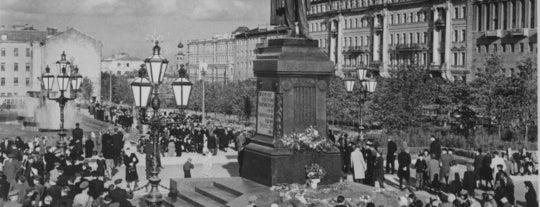 Пушкинская площадь is one of Закладки IZI.travel.