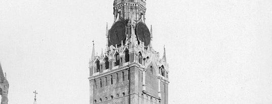 Спасская башня is one of Закладки IZI.travel.