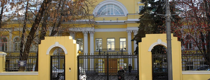 Пречистенка, 17/9 is one of Закладки IZI.travel.