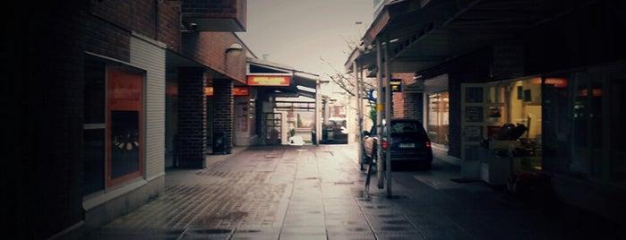 Ala-Kivenlahden ostoskeskus is one of Ostarit.